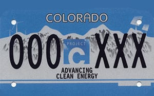 Colorado Carbon Fund Plate
