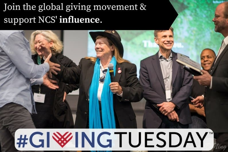 Join the global giving movement and support NCS' influence.