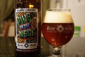 Blue Moon beer.