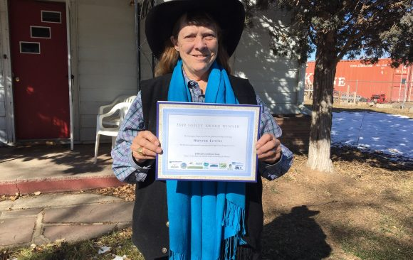Hunter won the Humongous Fungus Award!